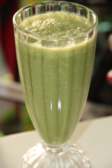 Spinach&banana smoothie