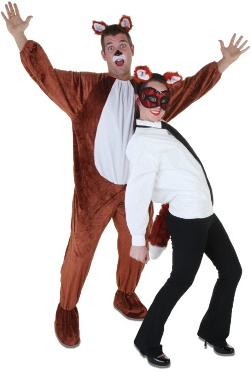 Lavenderloafers-what-does-the-fox-say-couples-costume