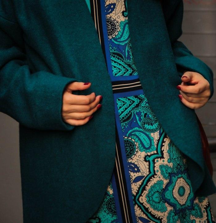lavender-loafers-blue-emerald-color-jacket-fashion-blogger-straight-dress-pattern-patterned-dress-opi-nail-polish-new-zealand-auckland